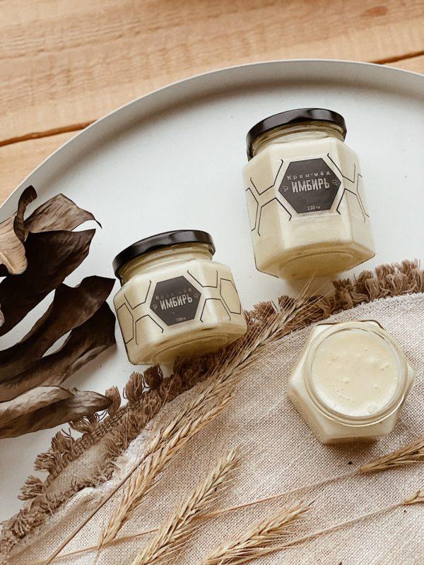 Крем-мёд имбирь