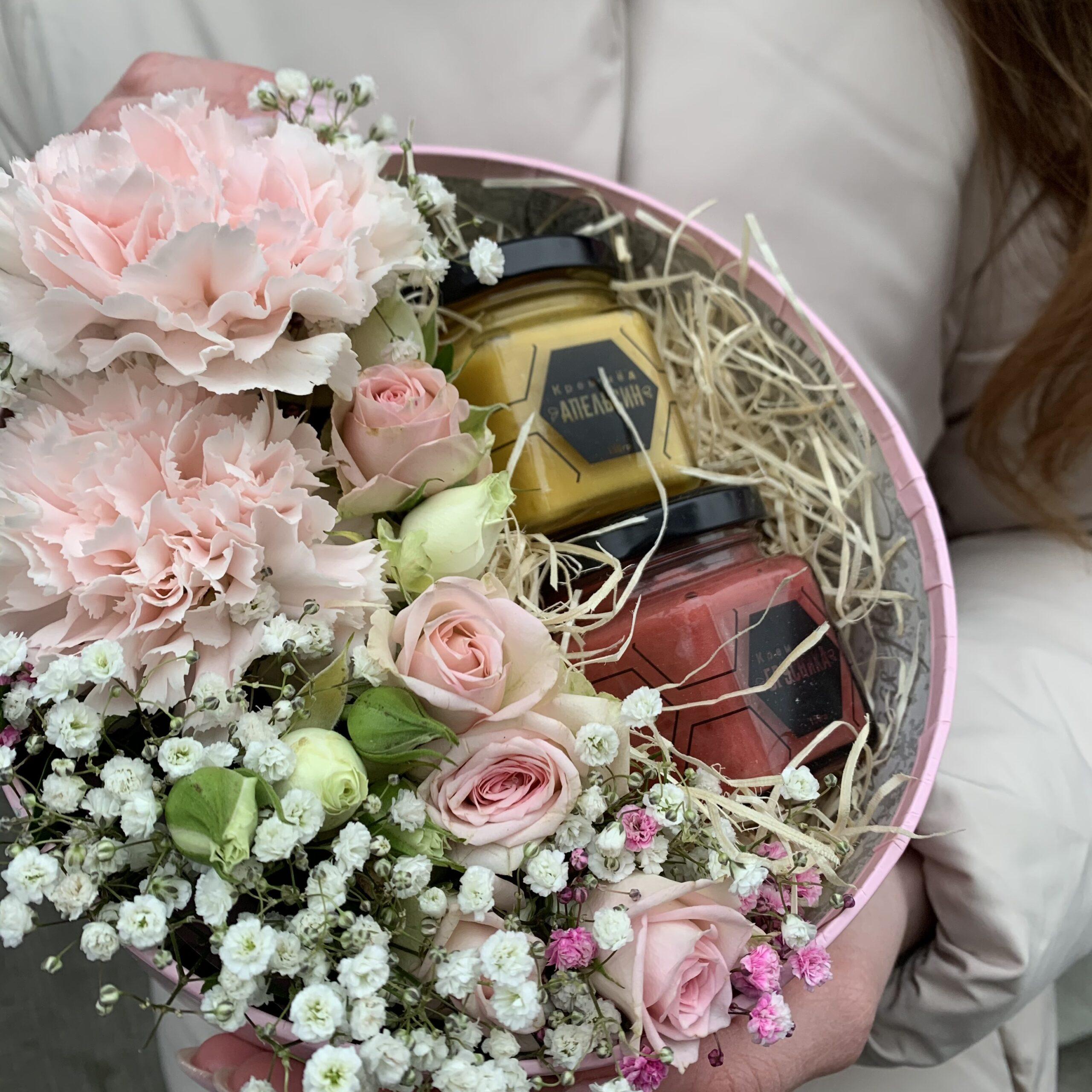 """Набор с цветами и мёдом """"Fleur"""""""