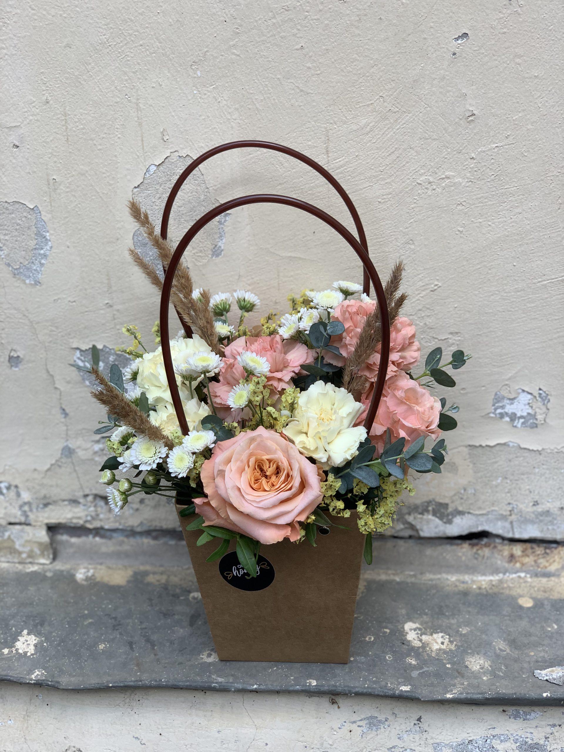 Осенняя коллекция. Сумочка с цветами